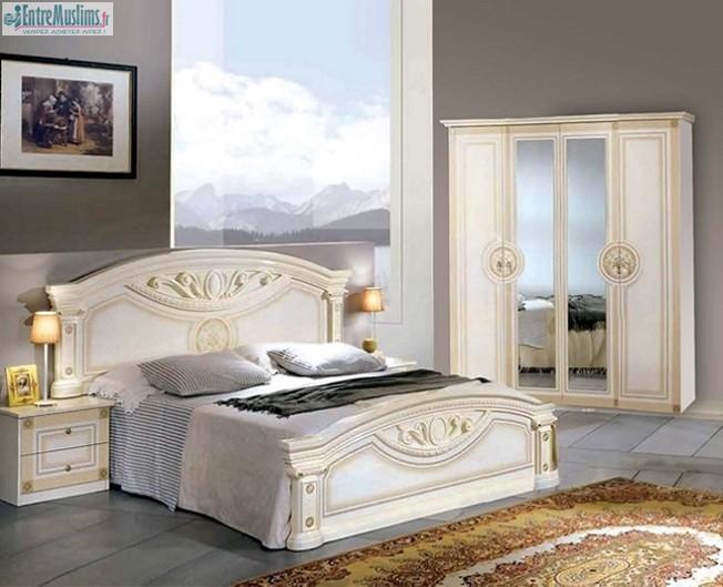 chambre kate chambre pas cher chambre mobili meubles. Black Bedroom Furniture Sets. Home Design Ideas