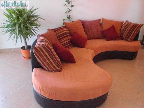 canap d 39 angle mod le senegal 5 6 places forme demi. Black Bedroom Furniture Sets. Home Design Ideas