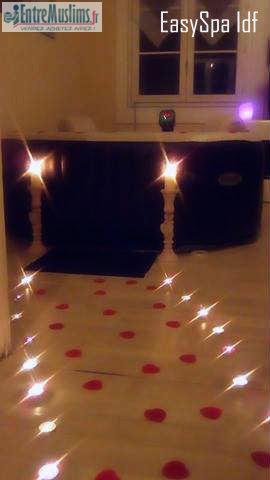 location spa a domicile. Black Bedroom Furniture Sets. Home Design Ideas