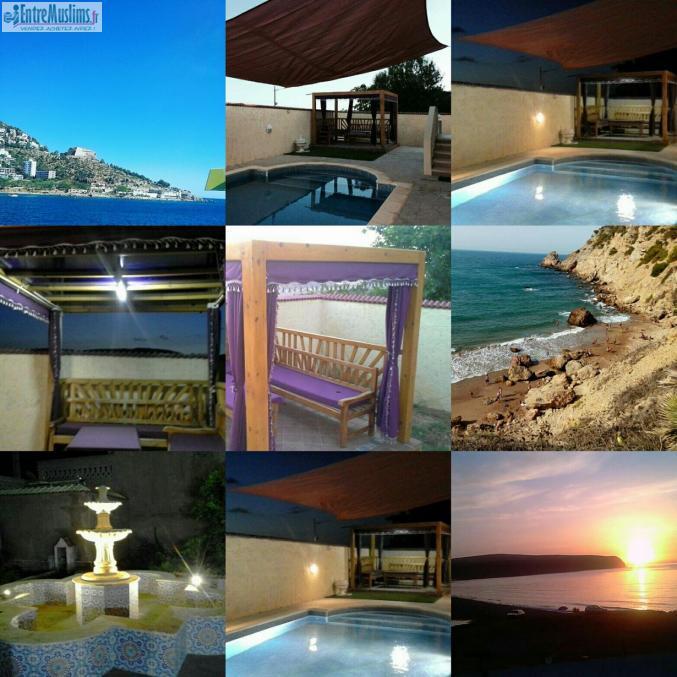 Loue villa avec piscine algerie ghazaouet for Piscine demontable algerie
