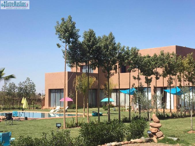 Magnifique villa marrakech for Garage ad acheres
