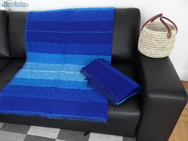 plaid couverture traditionnelle maroc sabra. Black Bedroom Furniture Sets. Home Design Ideas