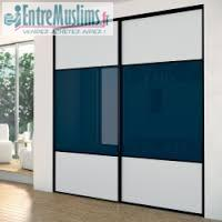 pose placard coulissant. Black Bedroom Furniture Sets. Home Design Ideas