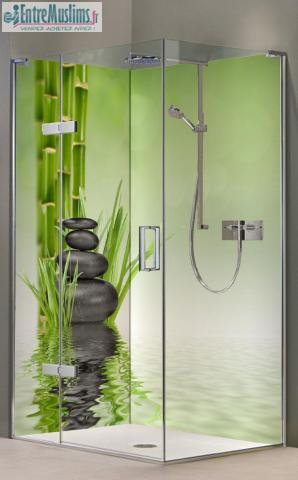 Panneau de douche mural tanche pour salle de bain - Sechoir salle de bain mural ...