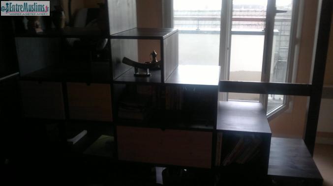 mezzanine de qualit 2 places bois massif meuble conforama. Black Bedroom Furniture Sets. Home Design Ideas