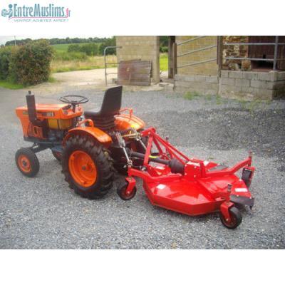Don micro tracteur kubota diesel 7001 2 rm 17 cv avec tondeuse arceau de securite - Mini tracteur tondeuse ...