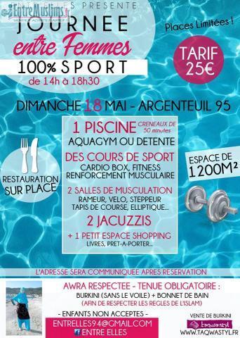 Journ e piscine pour femme 18 05 argenteuil - Piscine argenteuil ...